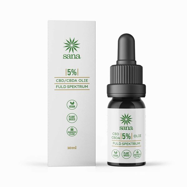 Sana Hemp CBD Olie 5% - 500mg